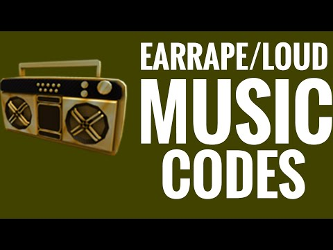 Codes For Loud Earrape Songs On Roblox Youtube