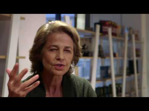 The Sence of an Ending Interview w  Charlotte Rampling
