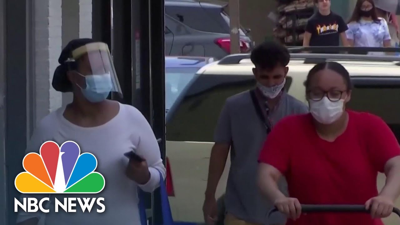 How Masks Became Politicized In The U.S. Amid Global Coronavirus Pandemic | NBC News NOW