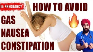 Rx Pregnancy #7 (Eng) Cure Gas, Nausea, Vomiting, Constipation Without Medicines | Dr.Education