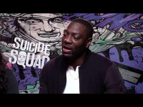 Adam Beach & Adewale Akinnuoye-Agbaje Take Five Hours To Gear Up for SUICIDE SQUAD