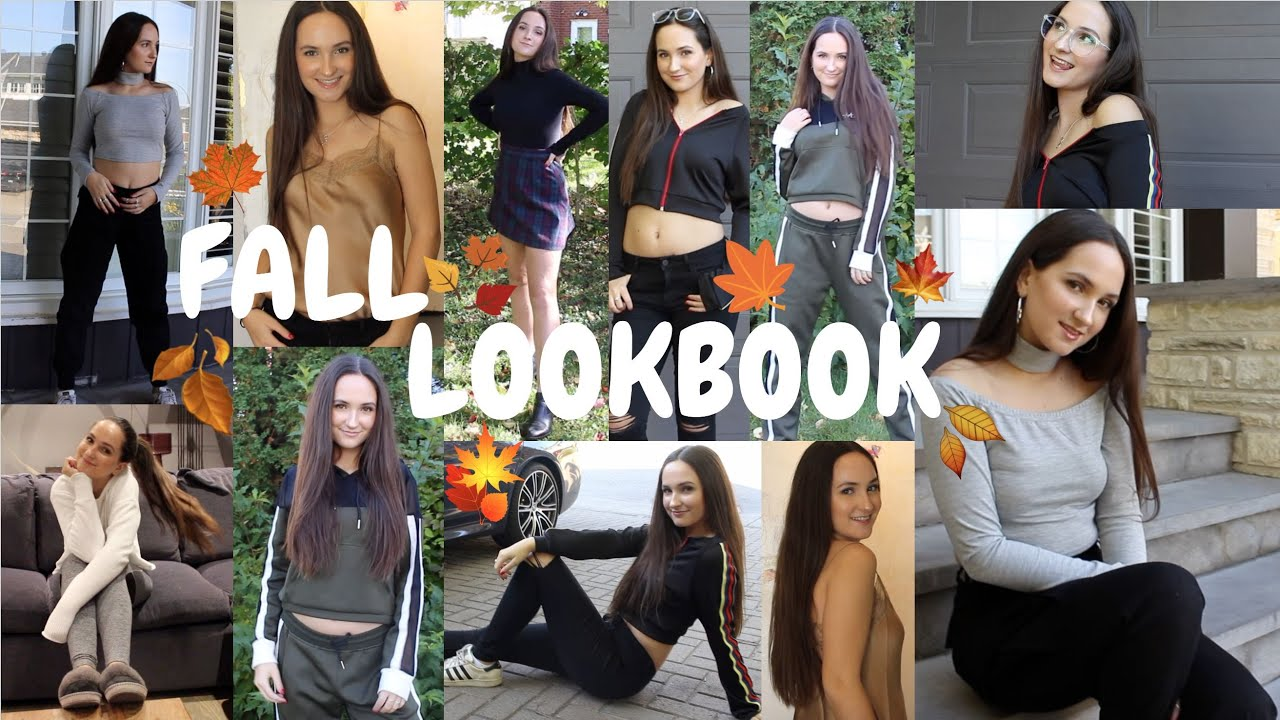 FALL LOOKBOOK 2017 // 6 Outfit Ideas to Look BOMB at School & Going Out! | Zoe Maya