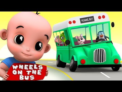 Wheels On The Bus | Junior Squad | Kindergarten Nursery Rhymes | Video For Babies by Kids Tv
