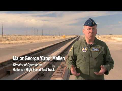 HOLLOMAN HIGH SPEED TEST TRACK