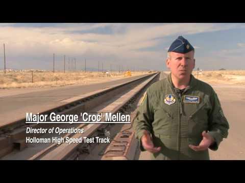 HOLLOMAN HIGH SPEED TEST TRACK
