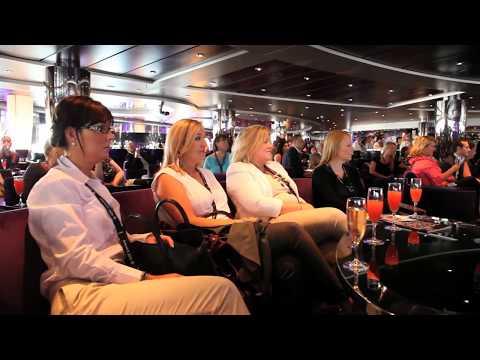 Irish Travel Agents visit MSC Magnifica in Dublin - Unravel Travel TV