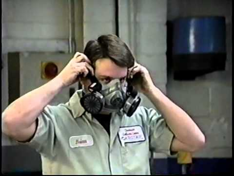 Auto Body Shop >> Auto Paint Respirator PPE Safety Training Video - YouTube