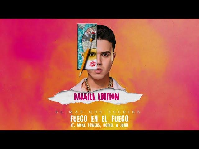 Darkiel Ft. Myke Towers, Noriel, Juhn - Fuego En El Fuego Remix