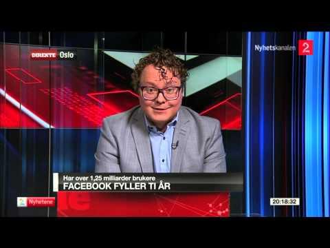 Magnus Brøyn is talking about Facebook's birthday