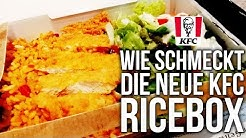 KFC Ricebox IM TEST - 500 Kalorien BOX BEI KENTUCKY FRIED CHICKEN im Food Review
