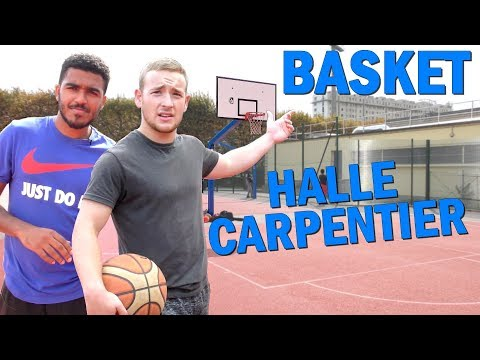 UNE APREME BASKET A HALLE CARPENTIER feat JEREMY ISEUX!