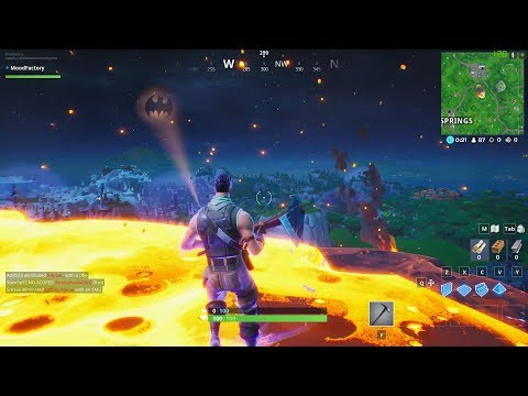 Battle On An Asteroid FORTNITE Who Is Cooler?