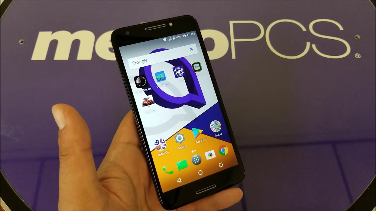 Alcatel A30 Fierce Unboxing and First Look For metroPCS