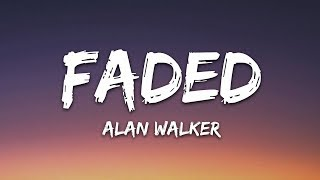 Gambar cover Alan Walker - Faded (Lyrics)