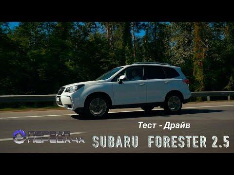 Subaru Forester new 2016 Субару Форестер тест драйв от Первая передача Украина