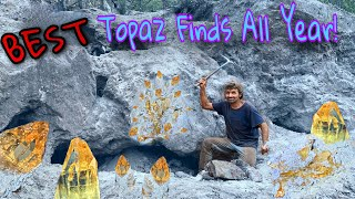 Topaz Crystal Mining | What A Day To Remember!