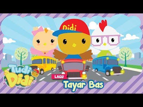 TudiDidi | Tayar Bas | Didi & Friends versi 2D