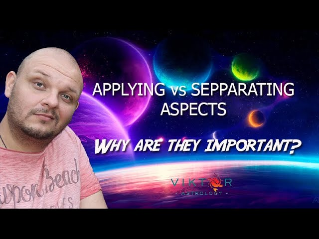Applying vs Separating aspects - Why are they important?