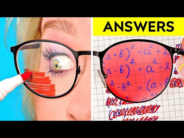 SPY HACKS AND TRICKS || Funny And Cool Spy Ideas by 123 GO! - 123 GO!