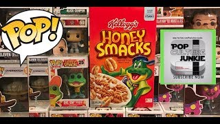 Funko POP! Ad Icon Honey Smacks Dig Em the Frog Unboxing