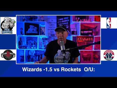 Washington Wizards vs Houston Rockets 2/15/21 Free NBA Pick and Prediction NBA Betting Tips