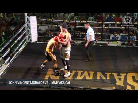 Boxing: John Moralde vs Jimmy Aducal