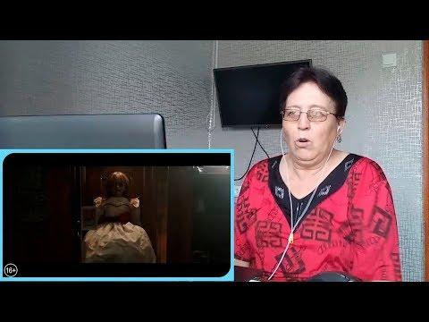 Проклятие Аннабель-3 – второй ролик / РЕАКЦИЯ