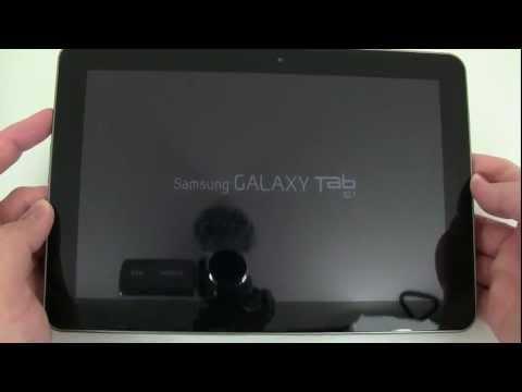 Samsung Galaxy Tab 10.1 for Verizon Unboxing