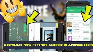 How to Download Fortnite For Android Phones In Apkpure Store Free 😍😱 !!