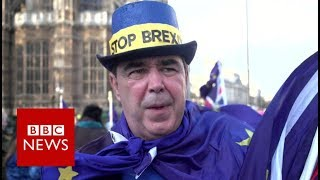 The activists who are still fighting Brexit - BBC News