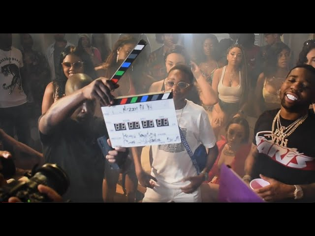 BTS Lil Nizzy ft. YFN Lucci Video Shoot - Block Star