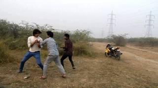 Fight in Delhi | Funny Edit | By Local Delhi Boys | Krish 3 theme