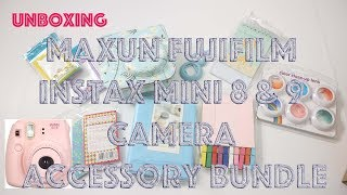 Amazon Unboxing | Maxun Fujifilm Instax Mini 8 & 9 Camera Accessory Bundle Set