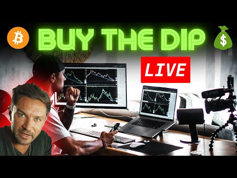 Bitcoin Live Price Prediction + Best Altcoins to Buy The Dip 2021