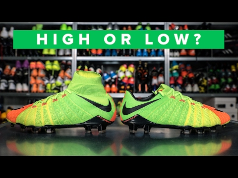 low priced 5695d 982d6 HIGH OR LOW CUT HYPERVENOM 3 EXPLAINED