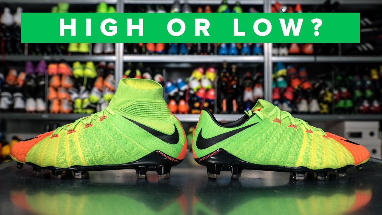 low priced 1f58f 890be HIGH OR LOW CUT HYPERVENOM 3 EXPLAINED