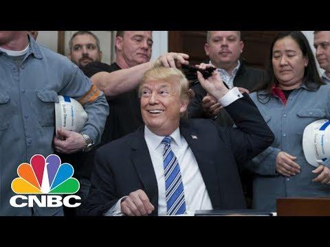 How President Donald Trump's Tariffs Affect GOP-Related Stocks   CNBC