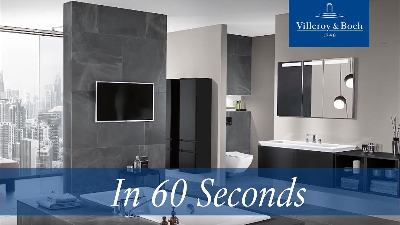 Villeroy and boch bathroom cabinets - In 60 Seconds Legato Villeroy Boch