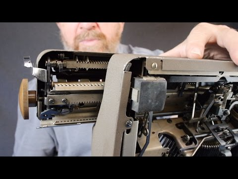 Typewriter Video Series - Episode 46: Escapements, Their Care & Feeding