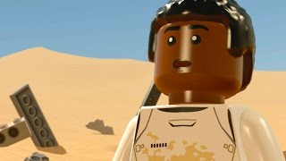 LEGO Star Wars: The Force Awakens Walkthrough Part 3 - Escape From the Finalizer