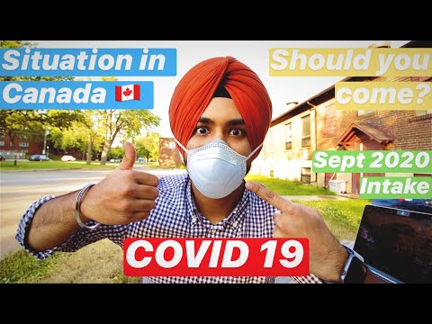 COVID 19 | Effect On International Students | Ground Level Situation In Canada | Online Classes