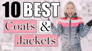 Best of 2018...Top Ten Favorite Coats & Jackets
