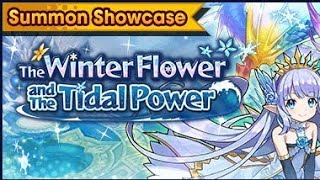 Dragalia Lost Summon The Winter Flower and the Tidal Power
