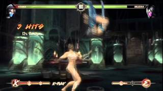 Mortal Kombat 9   Sexy Kitana vs Mileena Fight Story Mode HD   YouTube
