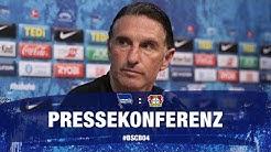 PK vor Bayer 04 Leverkusen l Bundesliga l 33. Spieltag l Hertha BSC