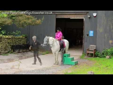 Pony Trekking Ullswater, Pony Trekking Lake District, Pony Trekking Centre Park at Park Foot
