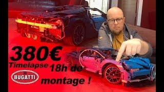 380€ et plus de 18h de montage pour cette CHIRON LEGO !