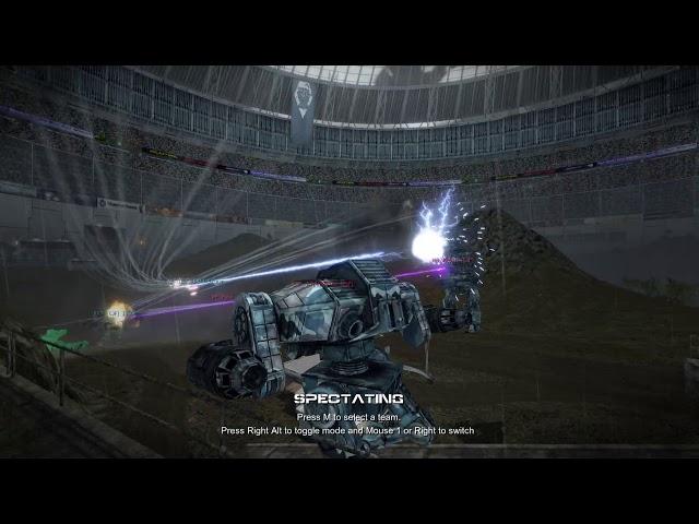 Mechwarrior Living Legends ThreeV3 2020 Backup Camera Round 2 CJF vs CSF Map Glory