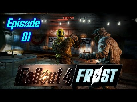 Fallout 4 Survival Mod Frost - episode 01 - The road to insanity