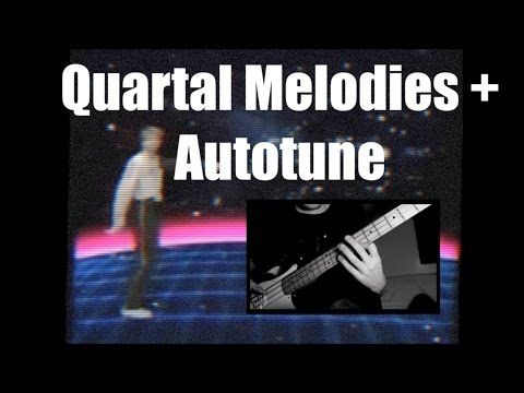 Quartal Melodies and Autotune (the intro music!) [ AN's Bass Lessons #9 ]